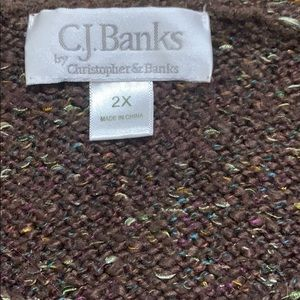 CJ Banks Sweaters - CJ Banks sweater